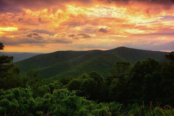 Photograph - North District Of Shenandoah Sunset by Raymond Salani III