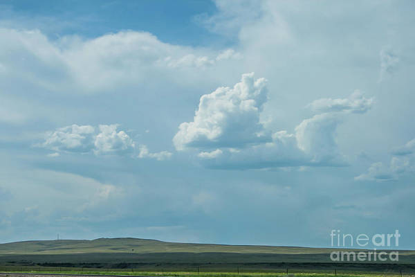 Photograph - North Eastern New Mexico Landscape by Tony Baca