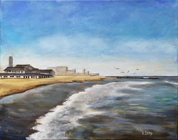 Wall Art - Painting - North End Beach by Karla Beatty