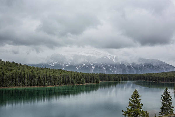 Photograph - North End Of Spray Lakes Reservoir by Belinda Greb