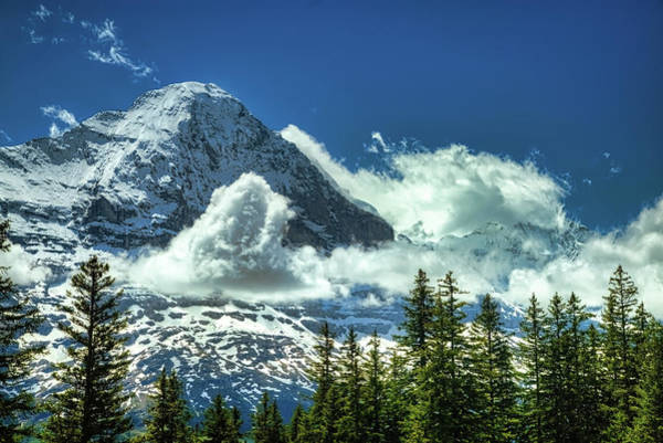 Wall Art - Photograph - North Face Of The Eiger by Robert Murray