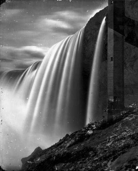 Horseshoe Falls Wall Art - Photograph - North Falls by William England