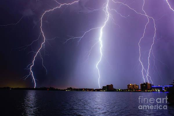 Lightning Bolt Photograph - North Key by Quinn Sedam