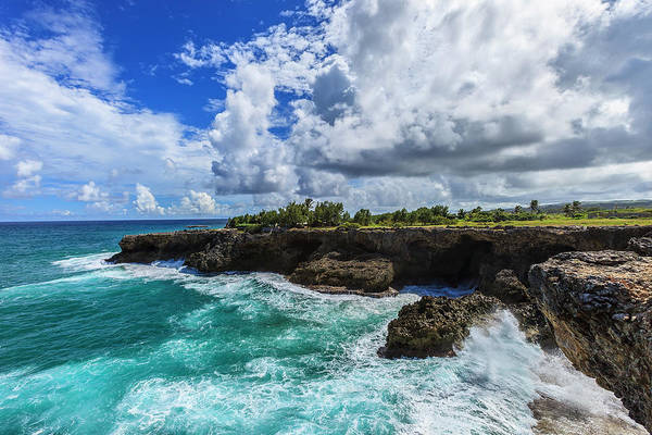 North Point, Barbados Art Print