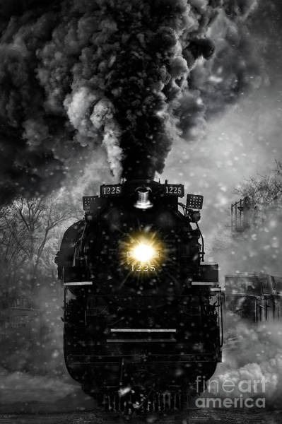 Wall Art - Photograph - North Pole Express by Todd Bielby