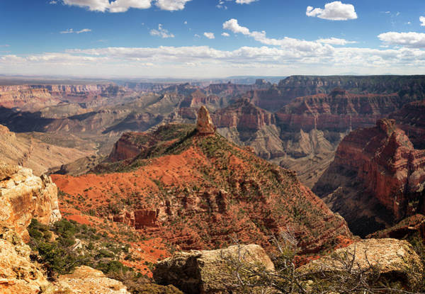 Wall Art - Photograph - North Rim Grand Canyon National Park  by Ricky Barnard