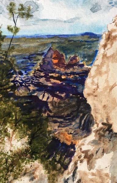 North Rim View Art Print