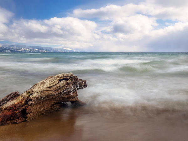 Wall Art - Photograph - North Shore Lake Tahoe by Steve Spiliotopoulos