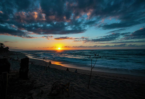 Photograph - North Shore Sunset by Anthony Jones