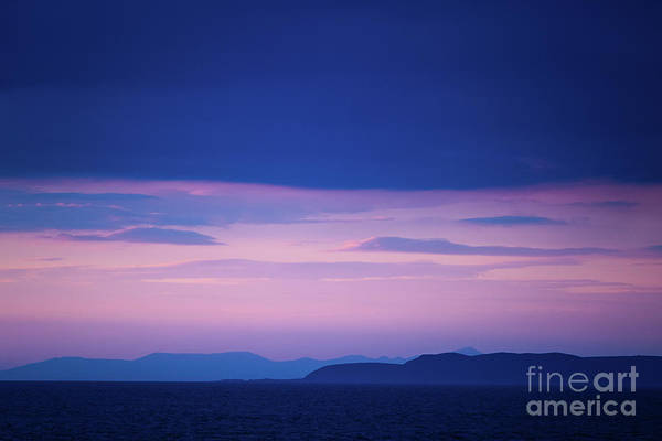 Photograph - North Wales In The Evening by Keith Morris