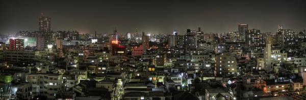 Wall Art - Photograph - Northeast Tokyo Night Skyline by Chris Jongkind