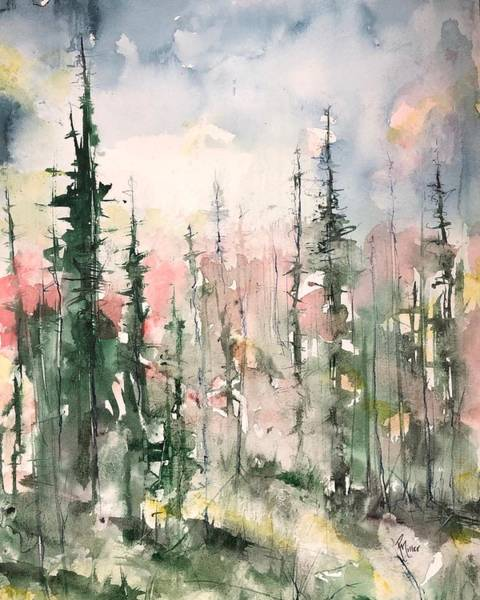 Painting - Northern Abstraction by Robin Miller-Bookhout