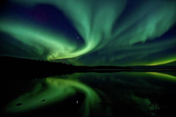 Yellowknife Wall Art - Photograph - Northern Lights Aurora Boreal by Steve Schwarz