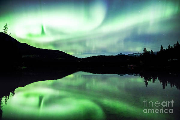 Wall Art - Photograph - Northern Lights, Canada by Matteo Colombo