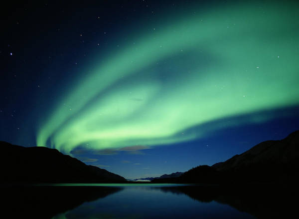 Lake George Photograph - Northern Lights, Denali National Park by George Lepp