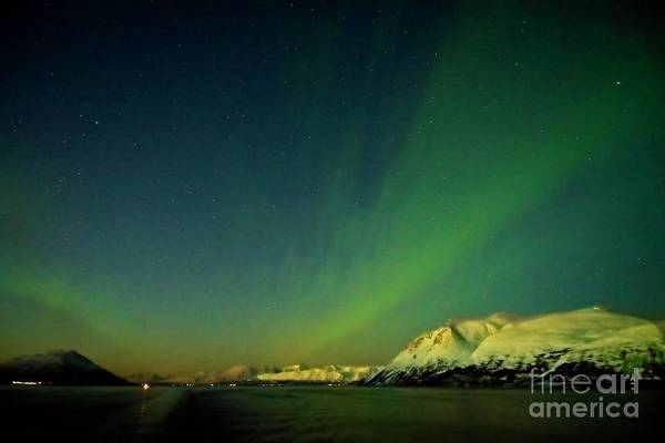 Photograph - Northern Lights In Norway by Martyn Arnold