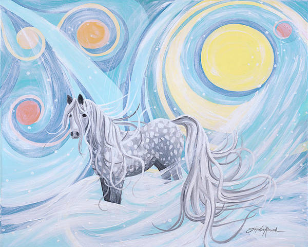 Painting - Northern Lights by Linda Rauch