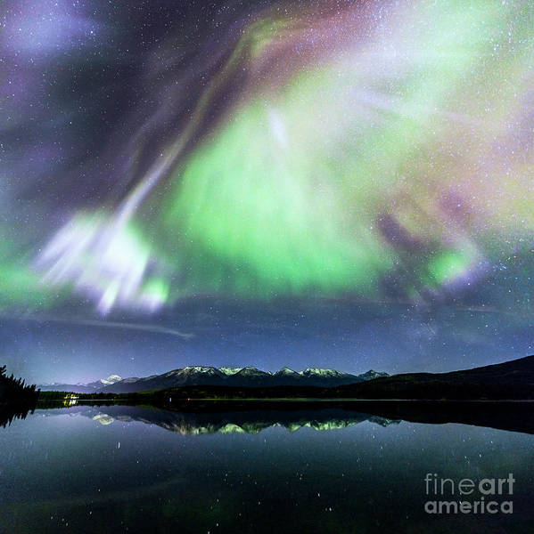 Wall Art - Photograph - Northern Lights Over Jasper by Matteo Colombo