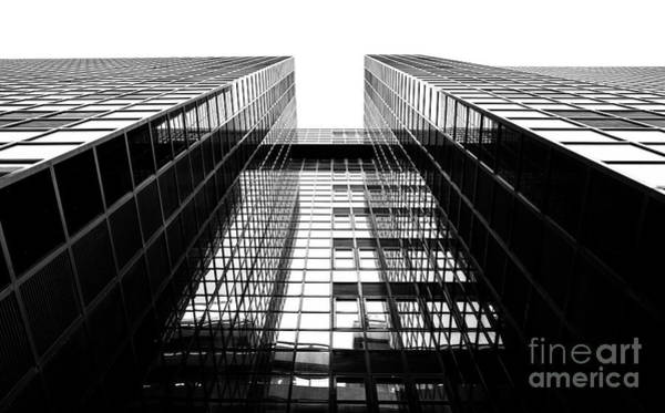Photograph - Northern Shell Building Black And White by Tim Gainey