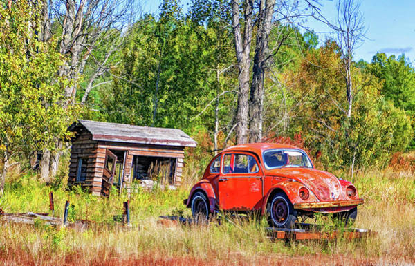 Clunker Wall Art - Photograph - Northland Used Cars - Deal Of The Week by Steve Harrington