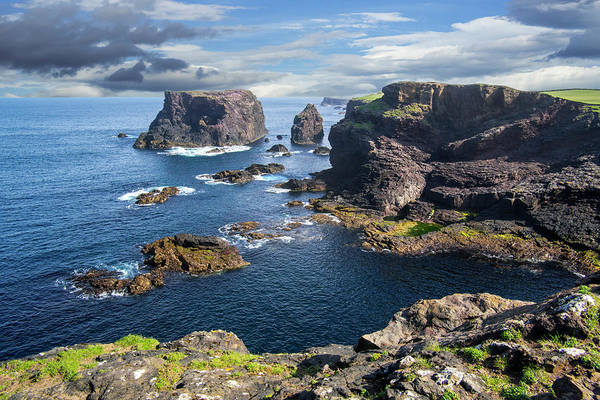Photograph - Northmavine Coast, Shetland Isles by Arterra Picture Library