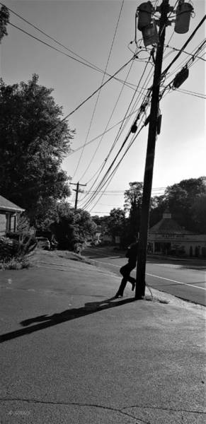 Photograph - Northport Cowboy B W 3 by Rob Hans