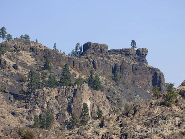 Photograph - Northrup Canyon - Granite And Basalt by Charles Robinson