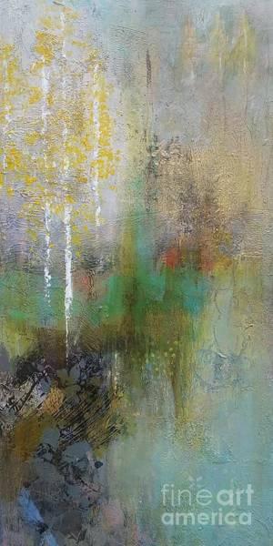 Wall Art - Painting - Northwest Aspens by Frances Marino