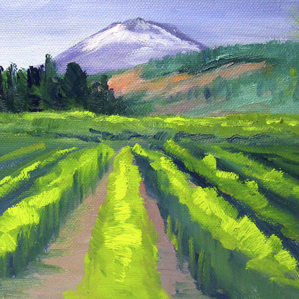 Painting - Northwest Mountain by Nancy Merkle