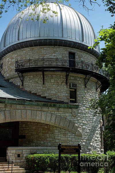 Wall Art - Photograph - Northwestern University - Dearborn Observatory by David Bearden