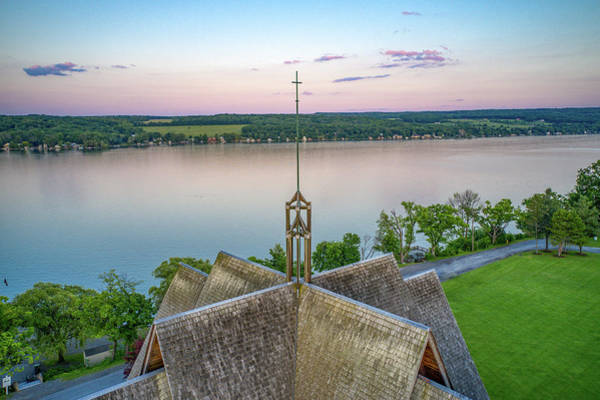 Photograph - Norton Chapel Cross  by Ants Drone Photography