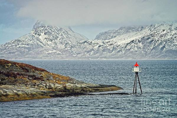 Photograph - Norwegian Coast Around Bodo by Martyn Arnold