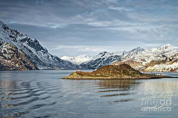 Photograph - Norwegian Mountain Landscape Lofoten by Martyn Arnold
