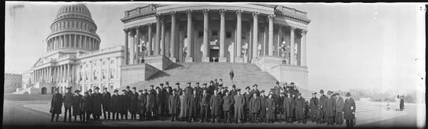 Wall Art - Photograph - Norwegians Party At Capitol, Washington by Fred Schutz Collection