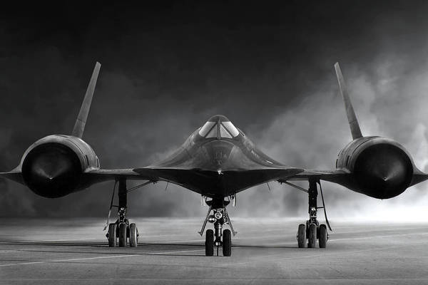 Wall Art - Digital Art - Nose To Nose Sr-71 by Peter Chilelli
