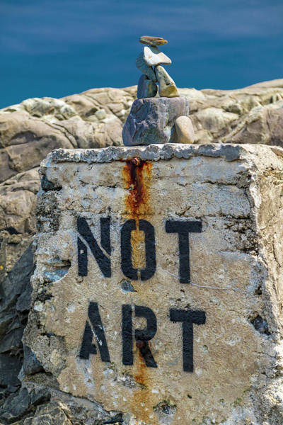 Kennebunkport Maine Photograph - Not Art In Kennebunkport Maine by Betsy Knapp