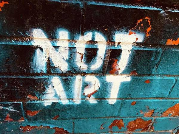 Wall Art - Photograph - Not Art Or Is It  by Funkpix Photo Hunter