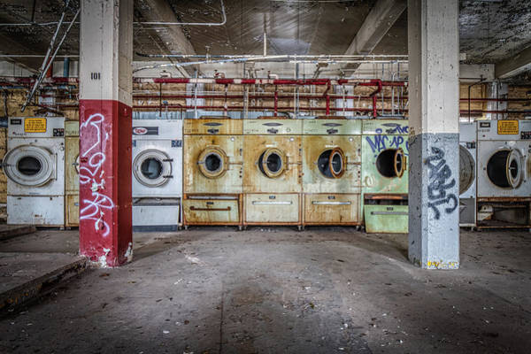 Dirty Laundry Photograph - Not Your Mothers Laundry by Mike Burgquist