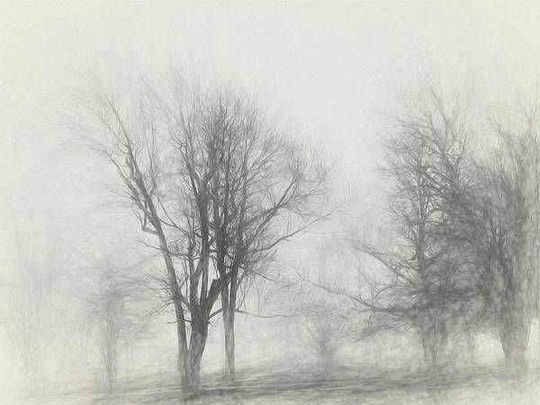 Digital Art - Nothing And Nowhere by Jeff Iverson