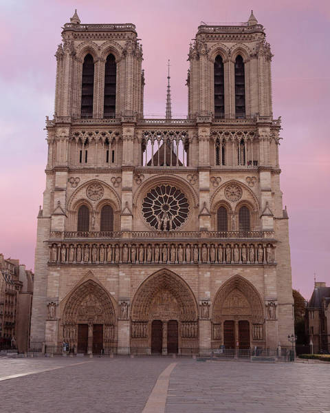 Photograph - Notre Dame Cathedral Dawn by Jemmy Archer