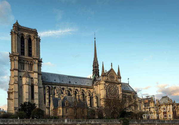 Photograph - Notre Dame Cathedral  by Doc Braham