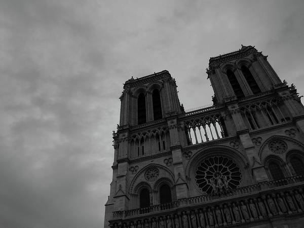 Art Print featuring the photograph Notre Dame Cathedral by Edward Lee