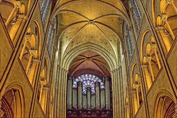 Photograph - Notre Dame Cathedral In Paris by Kay Brewer