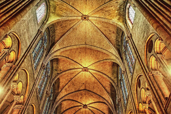 Photograph - Notre Dame Cathedral, Paris, France by Kay Brewer