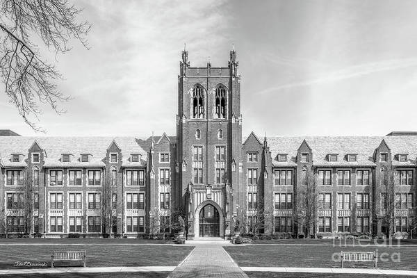 Wall Art - Photograph - Notre Dame College Administration by University Icons