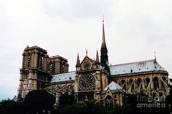Photograph - Notre Dame De Paris 2001 by Christiane Schulze Art And Photography