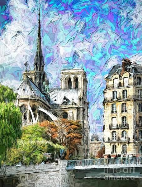 Wall Art - Photograph - Notre Dame De Paris by Jack Torcello