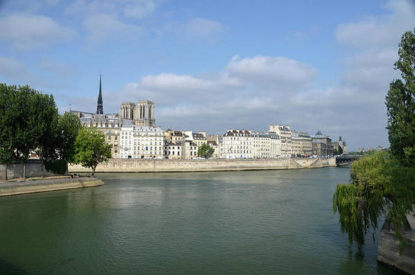 Photograph - Notre Dame De Paris On Ile De La Cite From The Northeast by RicardMN Photography