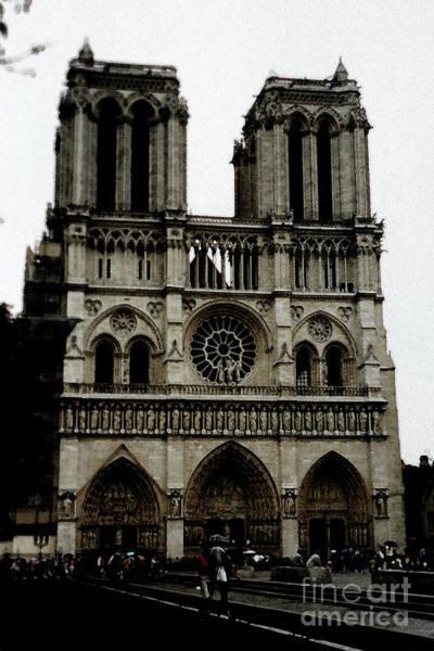 Photograph - Notre Dame De Paris - Painterly  by Christiane Schulze Art And Photography