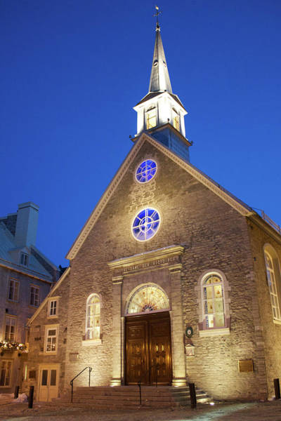 Quebec City Photograph - Notre-dame-des-victoires by Fabiano Rebeque - Frebeque@yahoo.ca